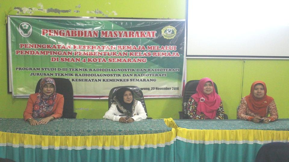 Acara Pembukaan kegiatan Pengabmas di SMAN 4 Semarang