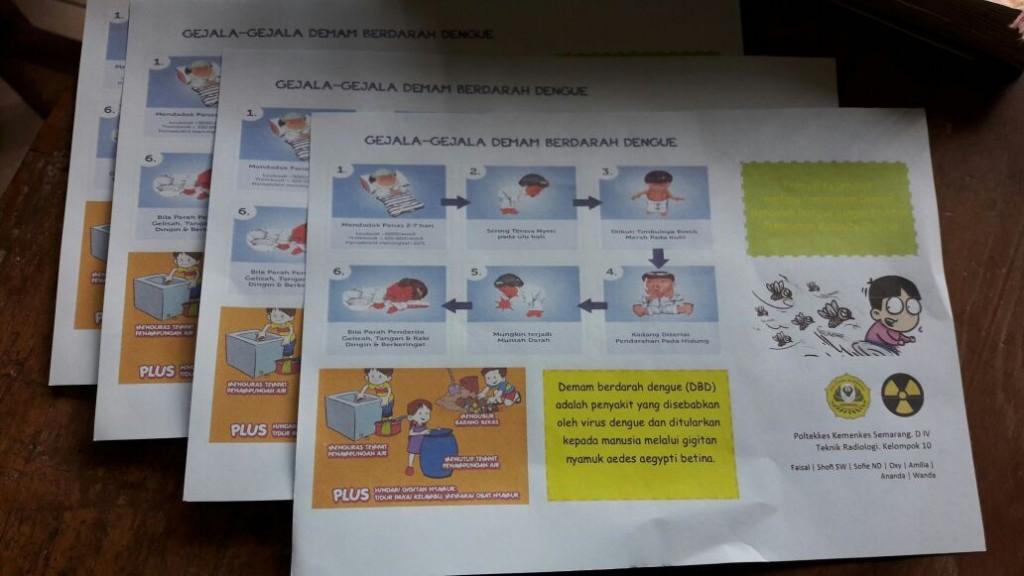 Contoh brosur promosi kesehatan