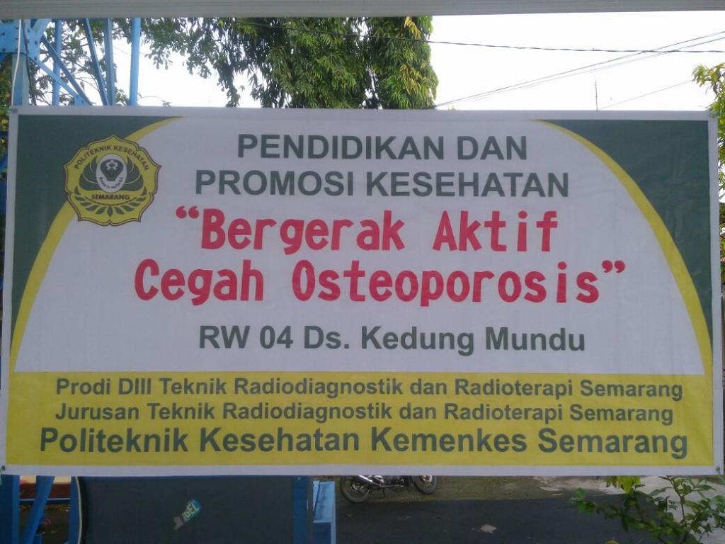 Ayo cegah osteoporosis